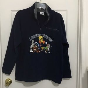 Vintage Warner Bros. Fleece pullover